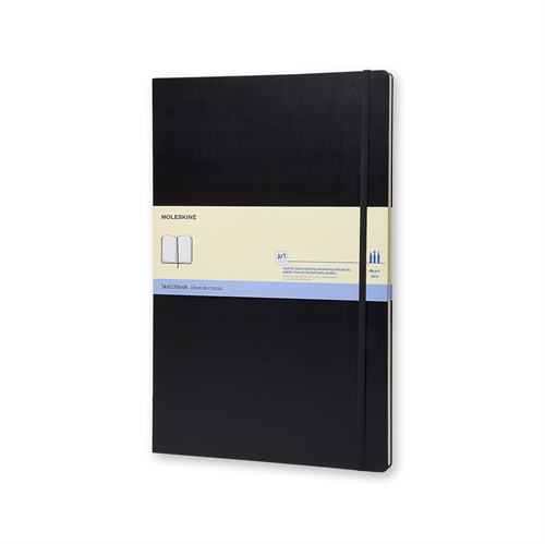 MOLESKINE ART PLUS SKETCHBOOK - A3 BLACK PLAIN