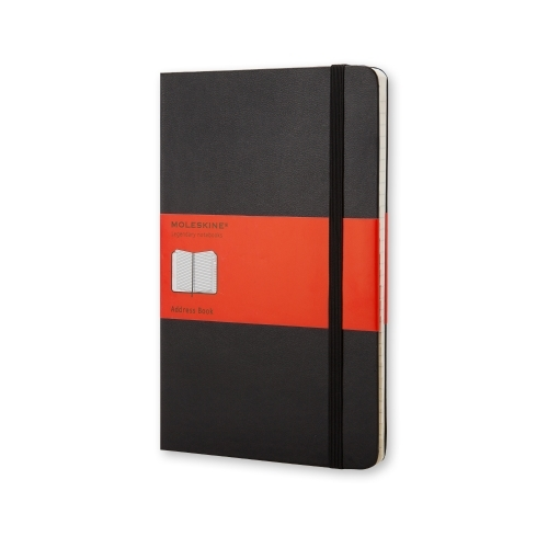 MOLESKINE CLASSIC HARD COVER - POCKET BLACK ADDRESS