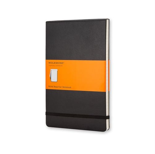 MOLESKINE CLASSIC HARD COVER - POCKET BLACK RULED REPORTER