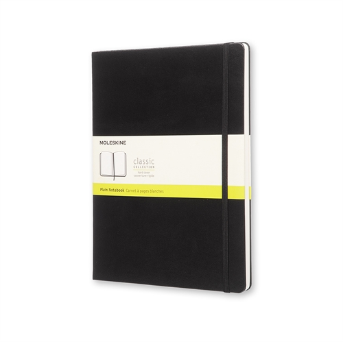 MOLESKINE CLASSIC HARD COVER - XL BLACK PLAIN