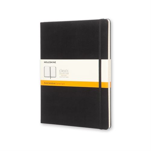 MOLESKINE CLASSIC HARD COVER - XL BLACK RULED