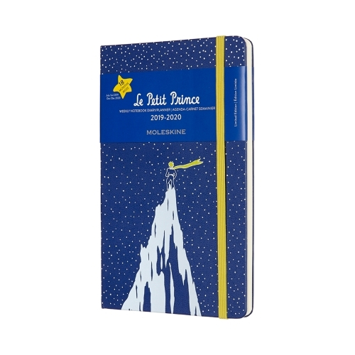 MOLESKINE HARD COVER 18-MONTH WEEKLY NOTEBOOK DIARY 2019-2020 - LARGE LE PETIT PRINCE